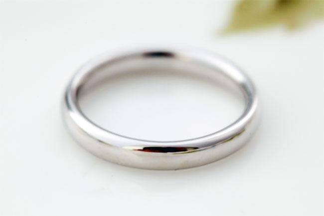 指輪サイズ直し石なし指輪