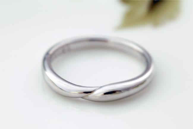 指輪サイズ直し特殊素材