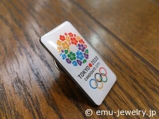 2013 東京オリンピック ピンブローチ