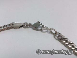 ネックレスの金具修理