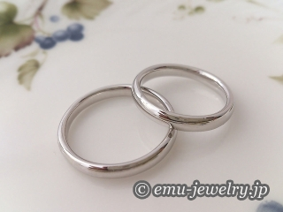 鍛造結婚指輪