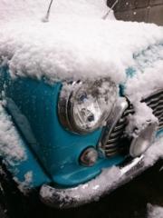 54年ぶりの初雪